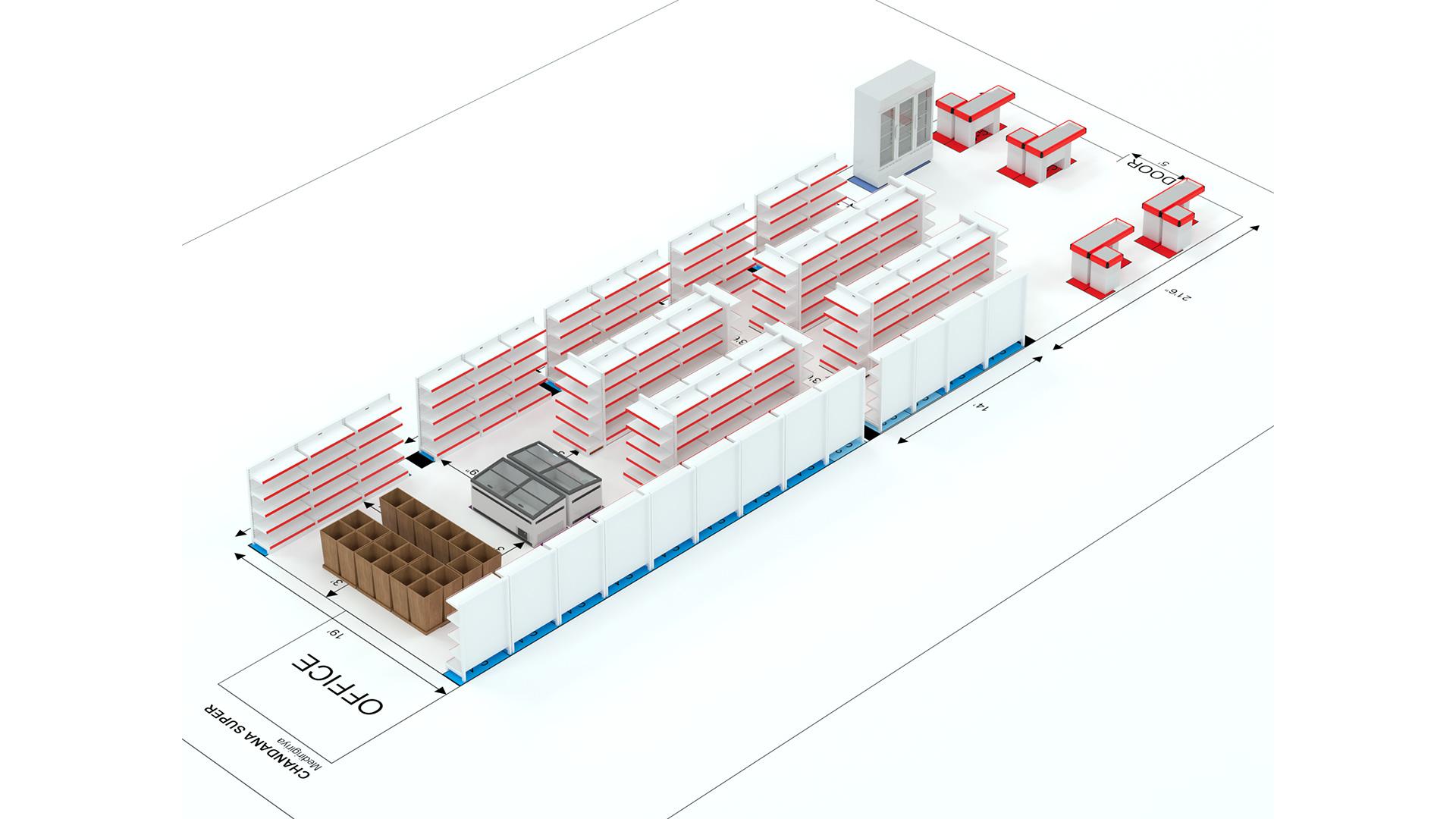 Supermarket Plan – 06