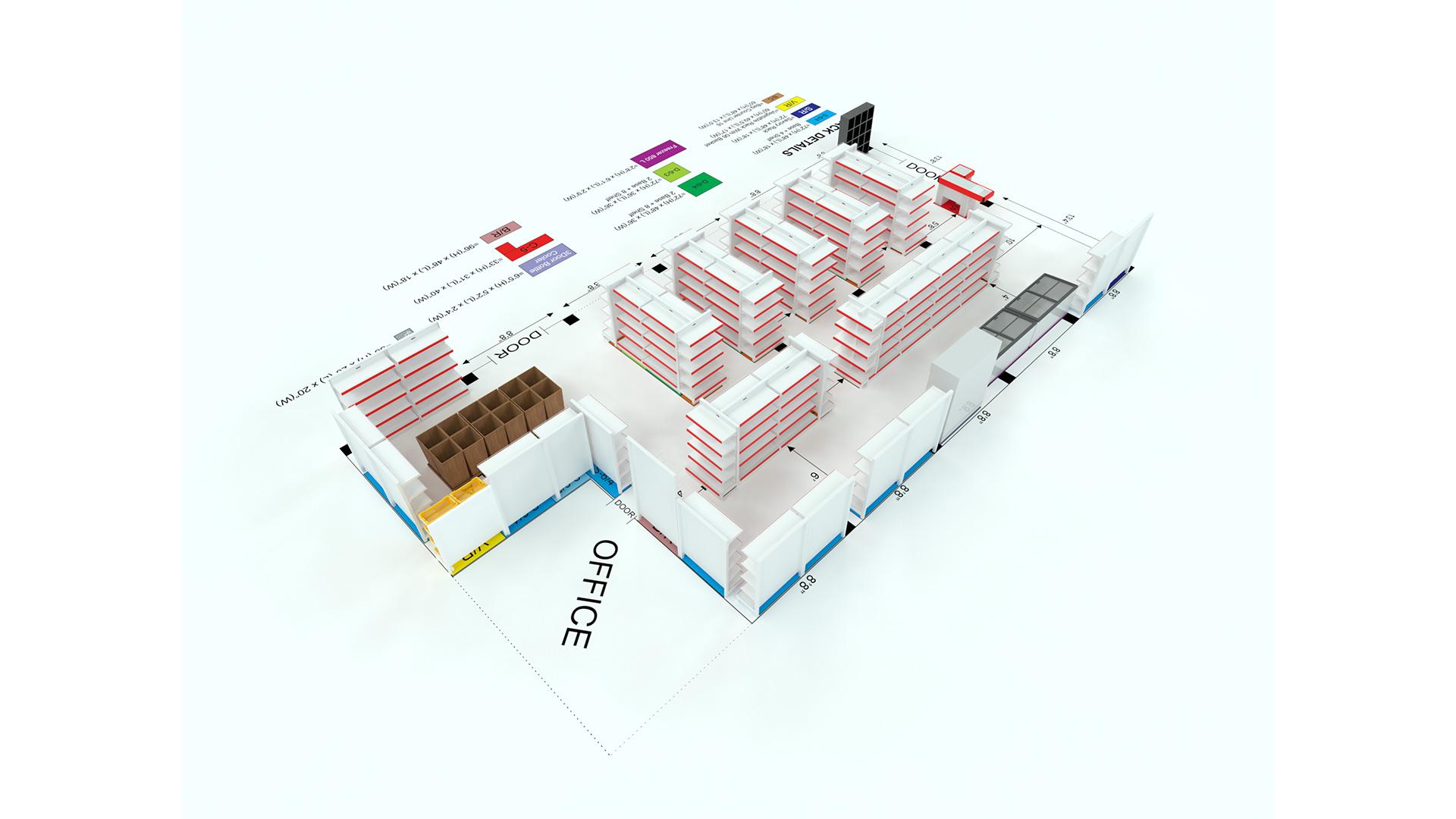 Supermarket Plan – 05