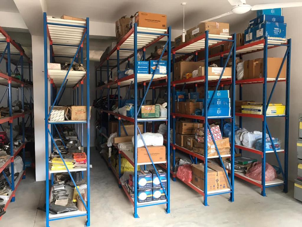 Spare part shop